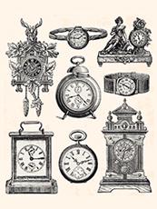 Wir reparieren alle Arten  von Uhren